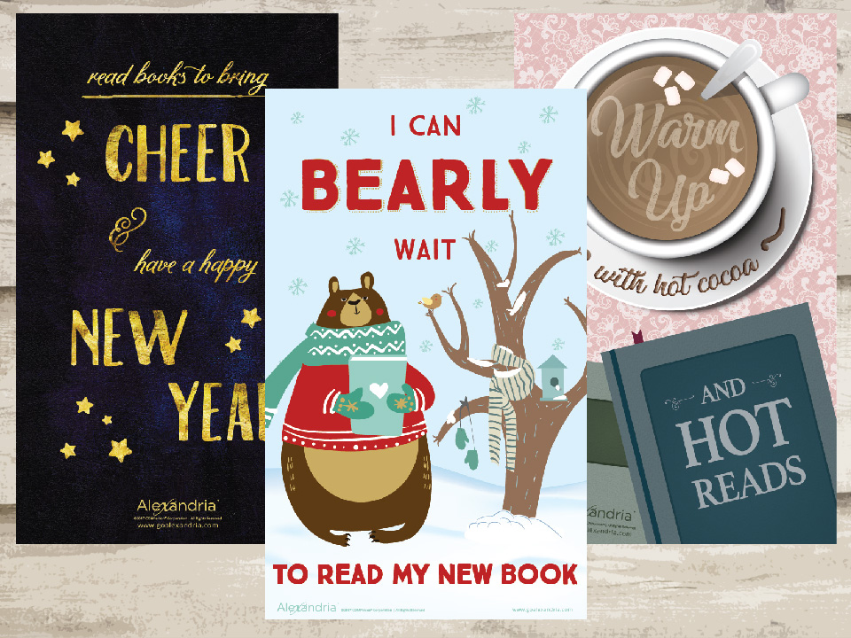 New Year 2018 Reading Posters