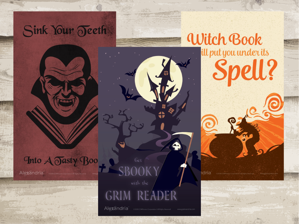 Halloween Reading Posters